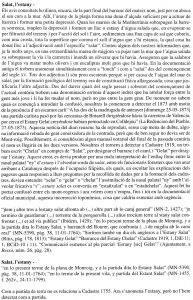 """L'Estany Salat al llibre """"Estudi Onomàstic de la V. i T. de Mont-roig del Camp"""""""