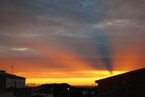 Sortida de sol a Mont-roig el dia 22 de novembre