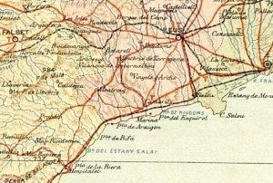 1910 Mapa Tarragona