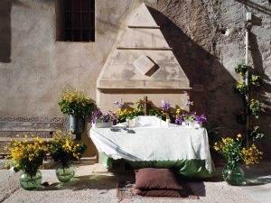 L'altar de la font de la Coma