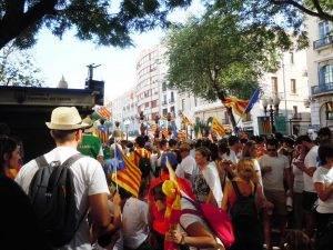Imatge de la manifestació a Tarragona